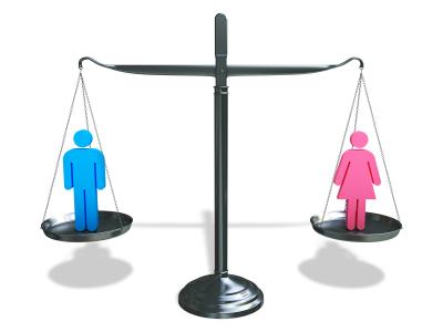 Iguales en derechos, ¿iguales a fin de mes?
