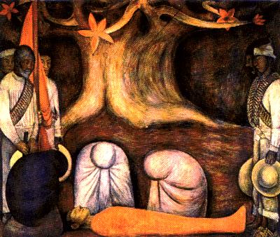 El entierro chapingo