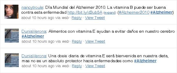Vitaminas B2 y E para el Alzheimer