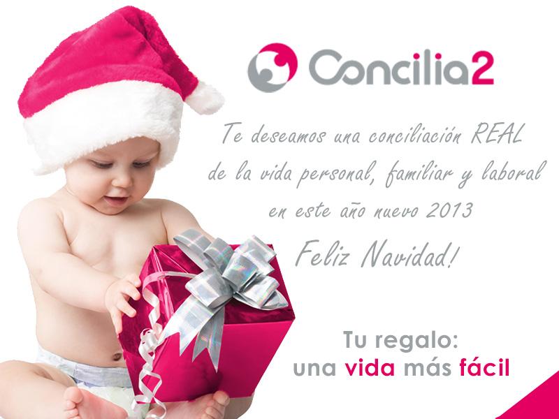 Concilia2 le desea una Feliz Navidad y Próspero Año Nuevo 2013
