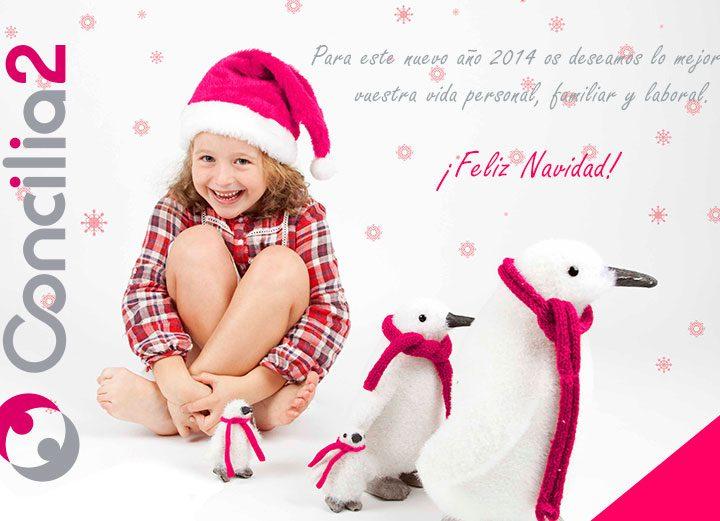 Desde Concilia2 os deseamos una Feliz Navidad y un 2014 lleno de Conciliación.
