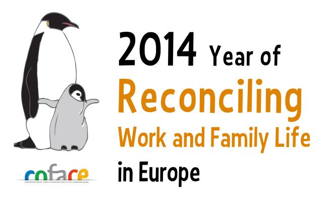 2014 Año Europeo para la Reconciliación de la Vida Laboral y Familiar.