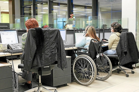 Datos positivos de inserción laboral de personas con discapacidad