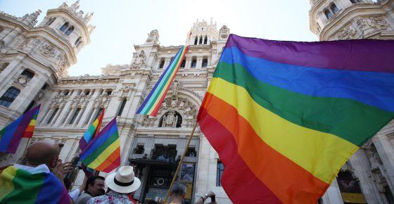 Backstage del Día del Orgullo LGTB