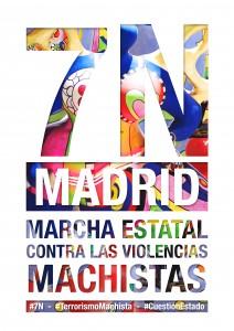 7N Manifestacion contra la violencia de genero