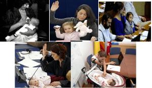 bebés congreso