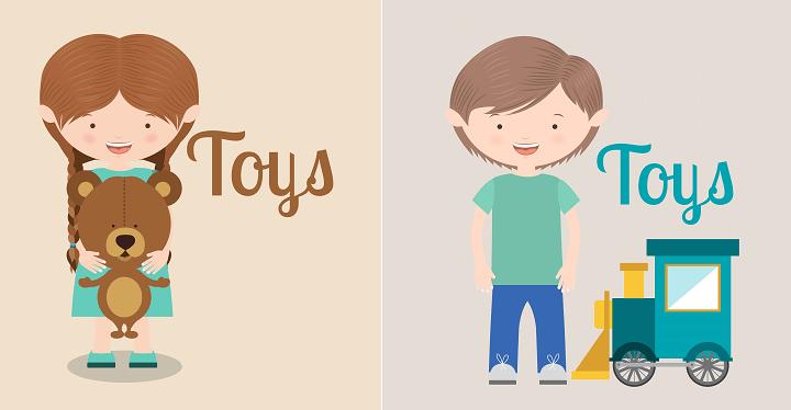 Los juguetes y regalos ¿tienen sexo?