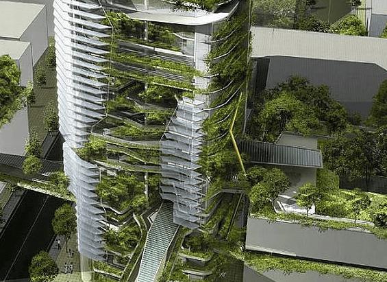 ¿Qué es un edificio sostenible?