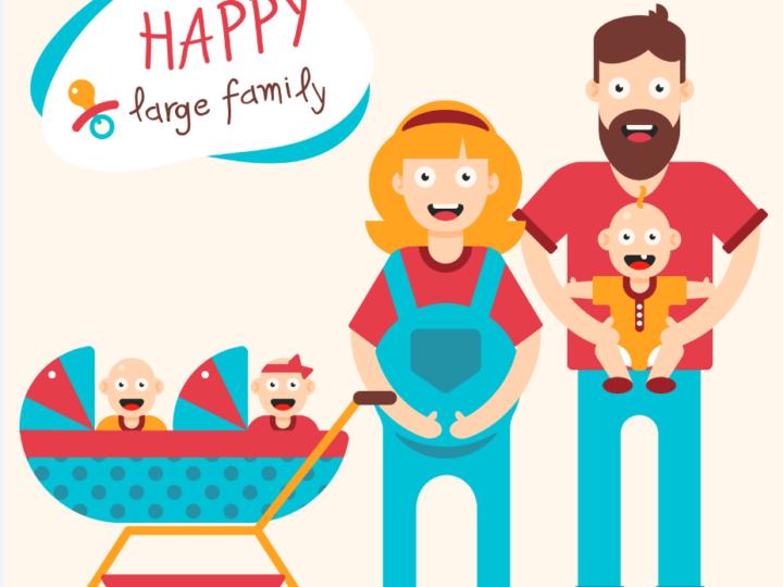 Las familias numerosas