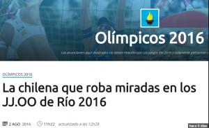 sexismo en las olimpiadas
