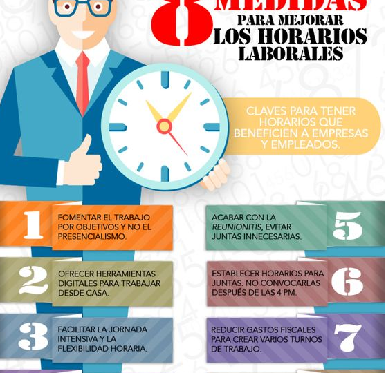 ¡50 medidas de conciliación de la vida personal y laboral eficaces!