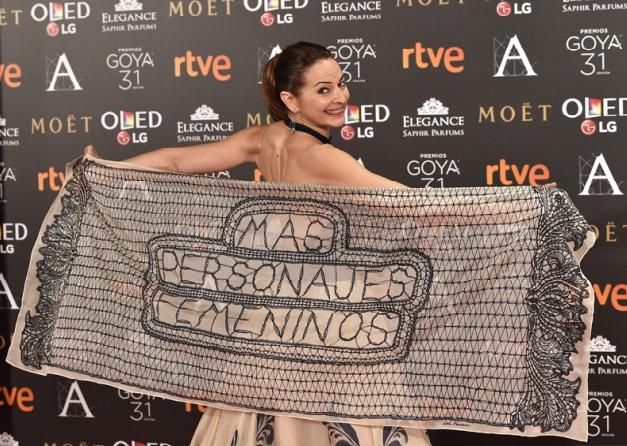 Los Premios #Goya2017: Una monstrua viene a verme