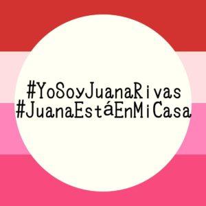 Imagen de la campaña en apoyo a Juana Rivas y por la protección de menores en casos de maltrato