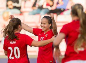 Víctoria de la selección de fútbol noruego contra la desigualdad salarial