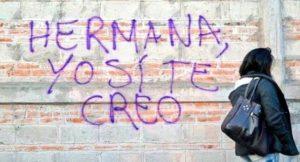 Las redes se vuelcan con la víctima de agresión sexual en San Fermín