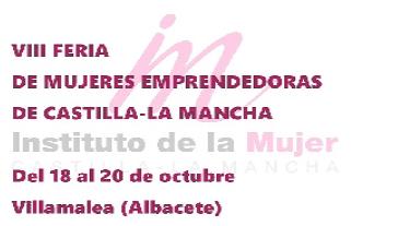 VIII Feria de Mujeres Emprendedoras de Castilla-La Mancha.
